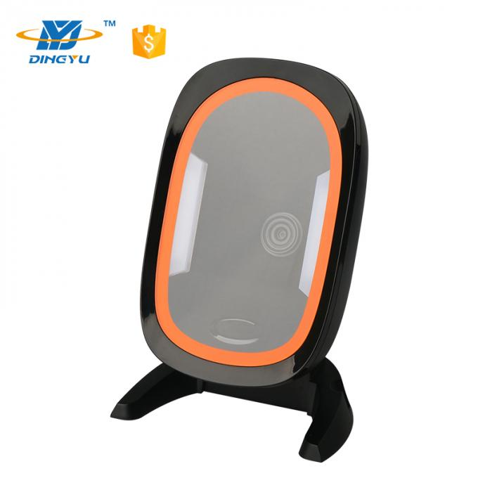 High Speed Omni Directional Barcode Reader , Supermarket 1D 2d Imager Barcode Scanner DP8520