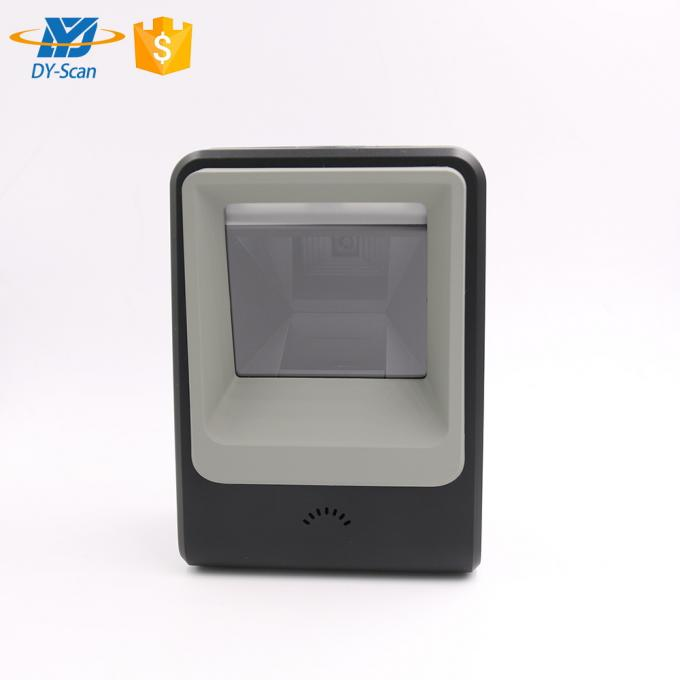 Fast Reading Rate Desktop Barcode Reader , 1D / 2D 2d Imager Barcode Scanner