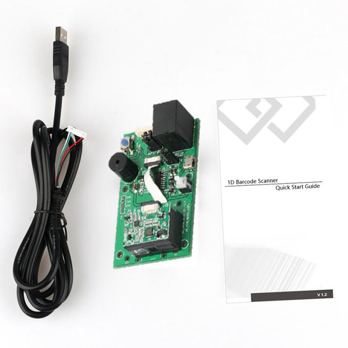 Fast Scanning Reader Engine 1D Barcode Scanner Module With Linear CCD Sensor