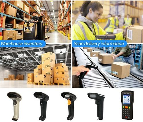 Barcode Scanner or Reader Type and How It Works