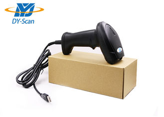 Wired 2D Barcode Scanner For Supermarket / Warehouse 10-500mm Depth Field