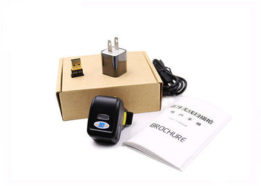 Mini Wearable Barcode Scanner , 1D Laser Bluetooth Finger Barcode Scanner DI9030-2D