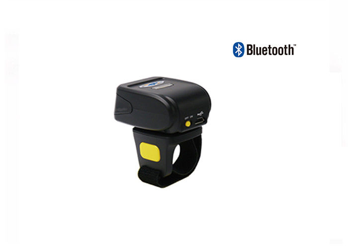Ring Type Wireless Barcode Scanner 400mAh Battery Capacity CMOS Scan Type DI9030-2D