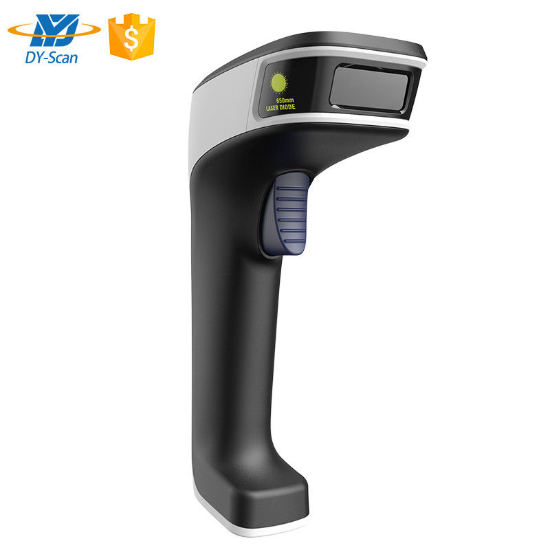Multi - Use QR Code Handheld Barcode Scanner USB DB9 Interface Type Power Supply
