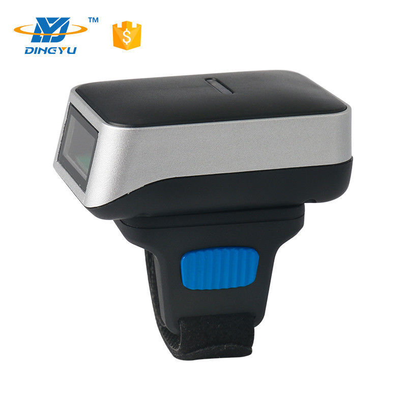 Wearable Wireless Barcode Scanner For Android Bluetooth Finger Barcode Scanner